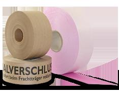 Wet adhesive tape
